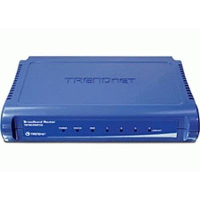 Trendnet TW100-S4W1CA Wireless router - Blauw
