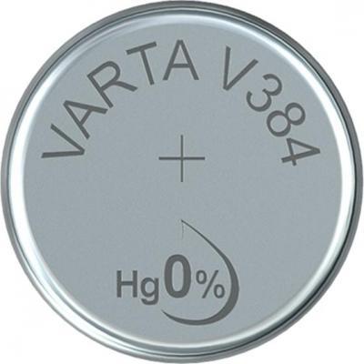 Varta batterij: -V384 - Zilver