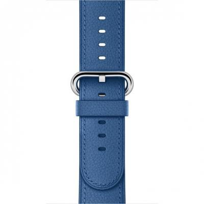Apple : Watch 38mm, Zeeblauw, klassieke gesp