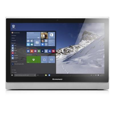 Lenovo all-in-one pc: S 500z - Zwart, Zilver