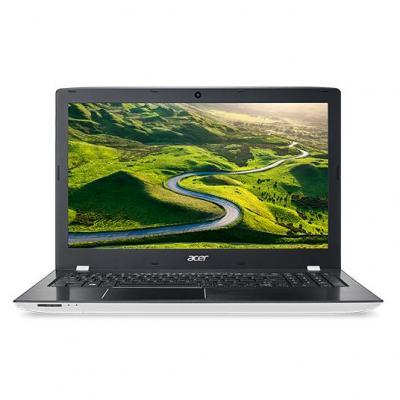 Acer laptop: Aspire E5-575-32L6 - Zwart, Wit