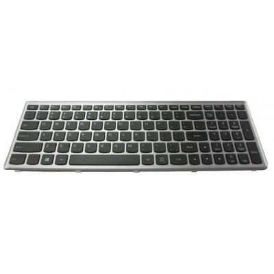 Lenovo notebook reserve-onderdeel: Keyboard for IdeaPad U510 - Zwart, Zilver