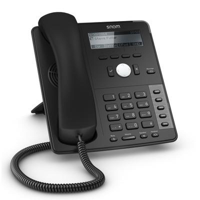 Snom ip telefoon: D710 - Zwart