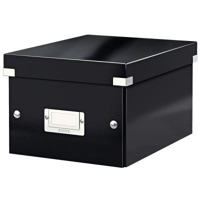 Leitz archiefdoos: Click & Store kleine doos - Zwart