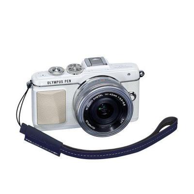Olympus camera riem: E0410192 - Blauw