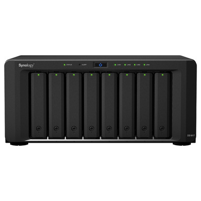 Synology DiskStation DS1817 NAS - Zwart