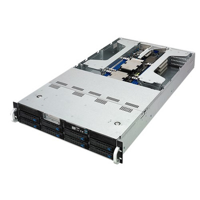 ASUS ESC4000 G4 Server barebone - Zwart,Zilver