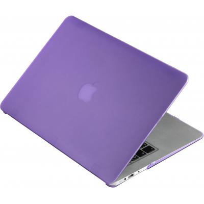 """Estuff laptop accessoire: SatinShell for MacBook 13"""" Air Frosted Purple - Paars"""