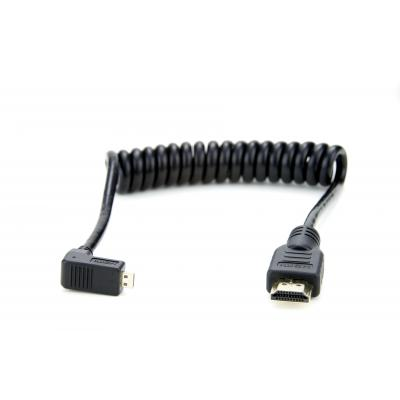 Atomos HDMI kabel: MicroHDMI/HDMI, 30-45cm, Black - Zwart