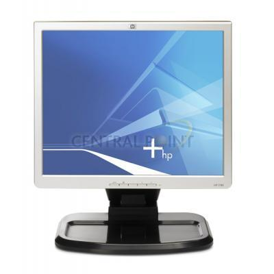 HP monitor: L1740 flat-panel monitor - Zwart, Zilver (Approved Selection Budget Refurbished)