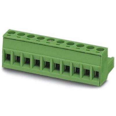 Phoenix Contact MSTB 2,5/10-ST Elektrische aansluitklem - Groen