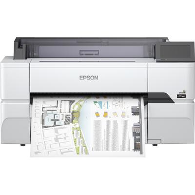 Epson SureColor SC-T3405N - wireless printer (No stand) Grootformaat printer - Zwart Pigment,Cyaan Pigment,Geel .....