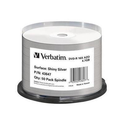 Verbatim DVD: DVD-R Shiny Silver