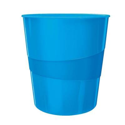Leitz prullenbak: WOW Waste Bin - Blauw