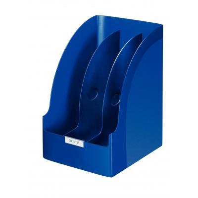 Leitz archiefdoos: Plus Jumbo tijdschriftencassette - Blauw