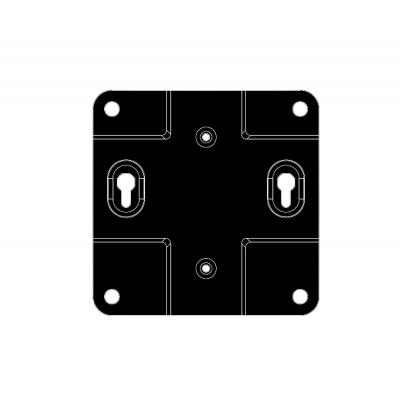 LG MPCBR01 Montagekit - Zwart