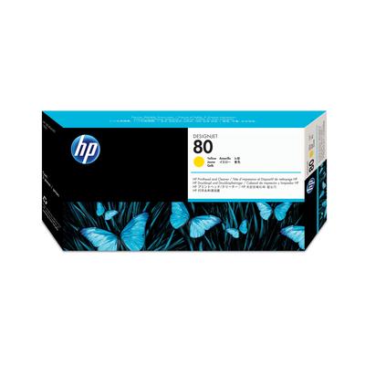 HP 80 Printkop - Geel
