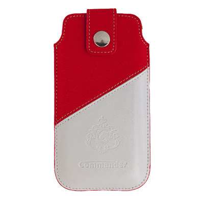 Peter Jäckel 13092 Mobile phone case - Rood,Wit