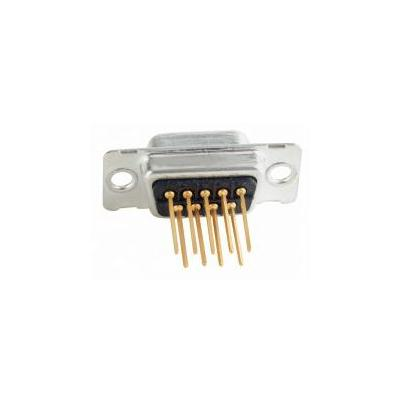 Conec D-SUB, 9-pos, Plug, Quality class 3 Kabel connector - Zwart, Zilver