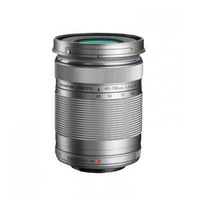 Olympus camera lens: M.ZUIKO DIGITAL ED 40-150 mm f4.0-5.6 R - Zilver