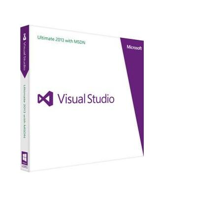 Microsoft software: Visual Studio Ultimate with MSDN