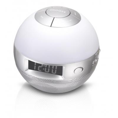 Lenco radio: Wellness clock radio CRW-1 - Zilver