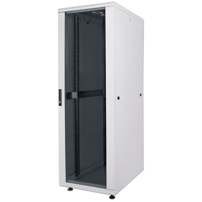 "Intellinet 19"" Network, 22U, 1144 (h) x 600 (w) x 600 (d) mm, IP20-rated housing, Max 1500kg, Flatpack, Grey ....."