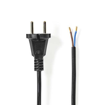 Nedis Vacuum Cleaner Power Cord, 7.00 m Electriciteitssnoer - Zwart