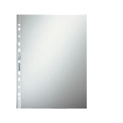 Leitz filling pocket: Glasheldere showtas 0,08 mm PP, 11 rings (verpakking 100 stuks) - Transparant