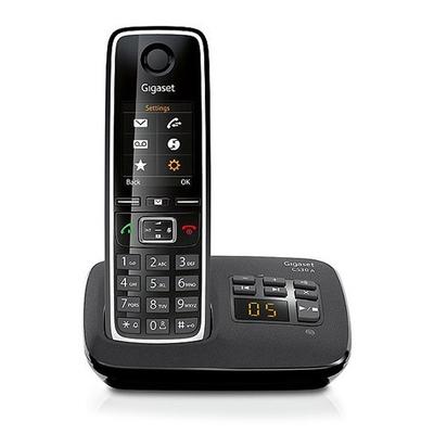 Gigaset C530A Dect telefoon - Zwart, Zilver