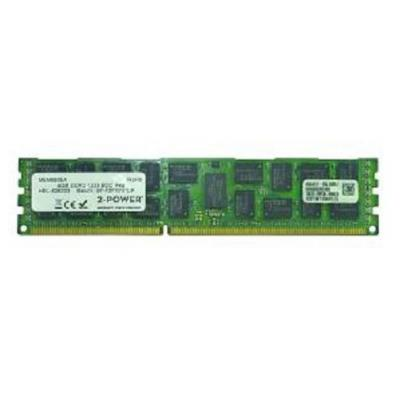 2-power RAM-geheugen: 4GB DDR3 1333MHz DIMM - Groen