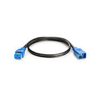 Hewlett Packard Enterprise 2.0m Jumper Cord Electriciteitssnoer - Zwart