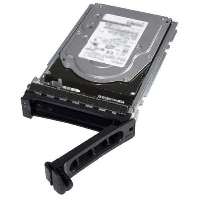 "Dell SSD: 800 GB, SED, FIPS 140-2, 6.35 cm (2.5"") , SAS - Zwart, Roestvrijstaal"
