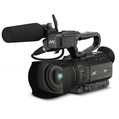 "Jvc digitale videocamera: 4KCAM live streaming, 1/2.3-inch CMOS, 4K Ultra HD, 2xSDHC/SDXC, 8.89 cm (3.5 "") LCD, HDMI, ....."