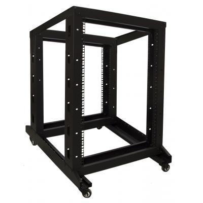 DS-IT 18U relay rack op wielen 600x800x1000mm Stellingen/racks