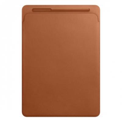 Apple tablet case: Leren Sleeve voor 12.9'' iPad Pro - Saddle Brown  - Bruin