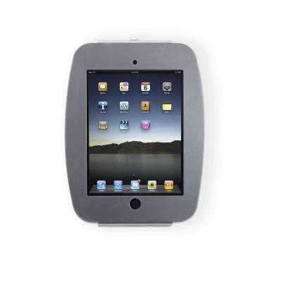 Maclocks : Space iPad Enclosure Wall Mount w/ Security iPad Lock, f/ iPad 2/3/4, Silver - Zilver