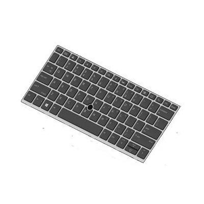 HP Keyboard With a backlight, privacy notebook reserve-onderdeel - Zwart