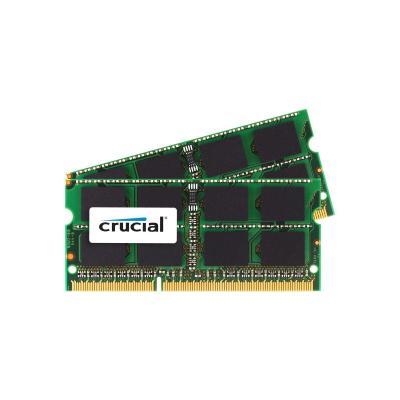 Crucial RAM-geheugen: 16GB (2x8GB) DDR3-1600 SO-DIMM CL11