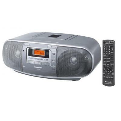 Panasonic CD-radio: RX-D50 - Zilver