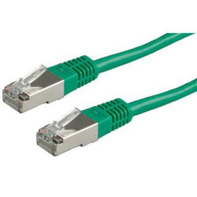 Secomp S/FTP Patchkabel Cat.6, groen, 2m Netwerkkabel