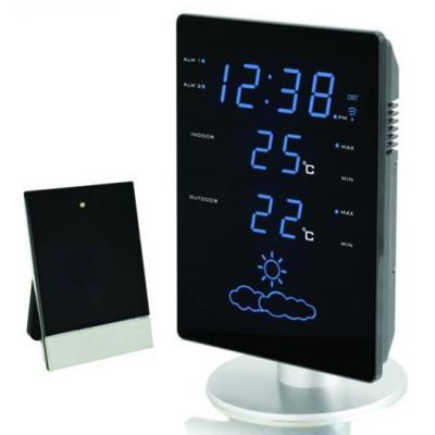 Technoline weerstation: WS 6820 - weather station - Zwart