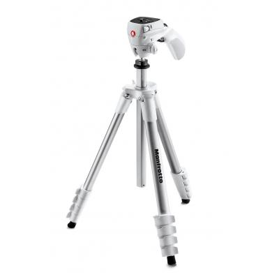 Manfrotto tripod: Compact Action White - Wit