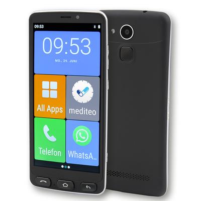 Olympia Neo schwarz Smartphone - Zwart, zilver 16GB