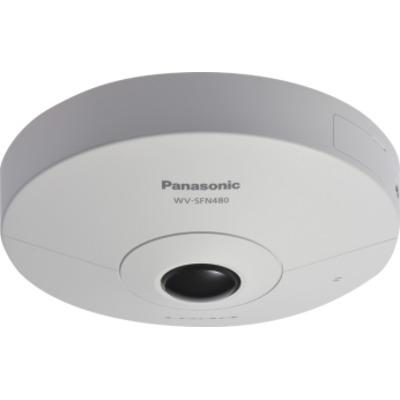 Panasonic 9MP, 1/2 MOS, H.264 / JPEG, f=1.38mm Beveiligingscamera - Wit