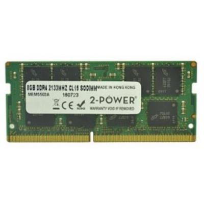 2-power RAM-geheugen: 8GB DDR4 SoDIMM - Groen