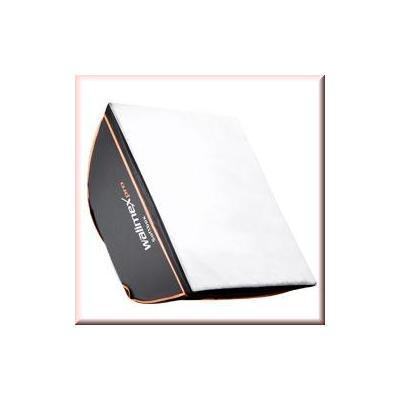 Walimex softbox: pro Softbox OL 60x60cm Visatec - Zwart, Wit