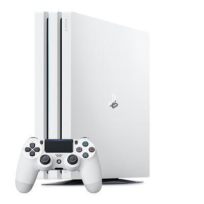 Sony spelcomputer: PlayStation 4 Pro 1TB - Wit