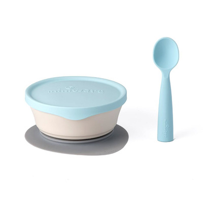 Miniware First Bites Peuter voeding - Blauw