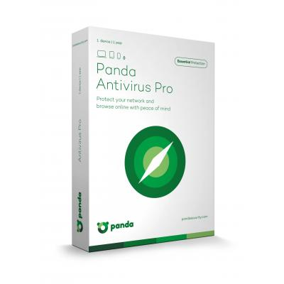 Panda software: Antivirus Pro 1Y 1+1U